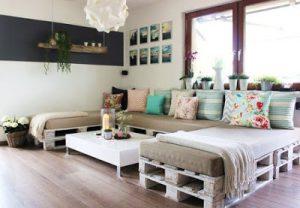 Empleo de Palet como elemento decorativo para tu casa