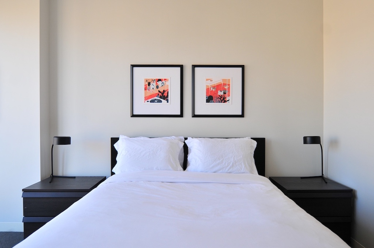 cama cuidada para airbnb