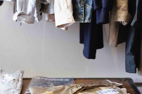 organización armario ropa