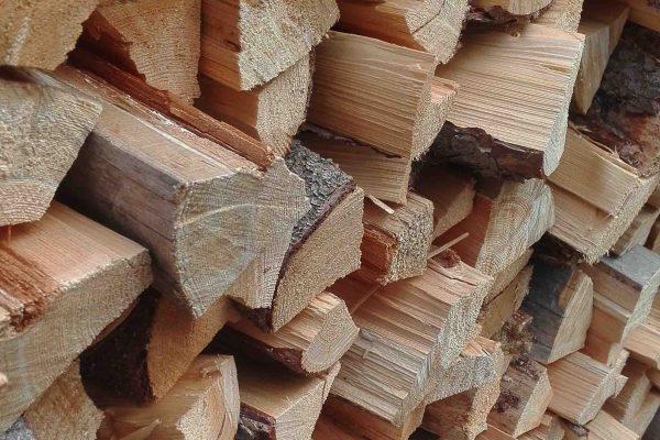 muebles mesa troncos