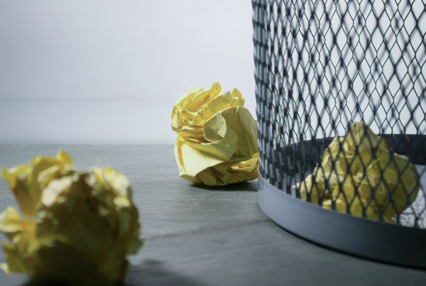 Reciclar en casa papel
