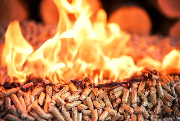 Calefacción de pellet