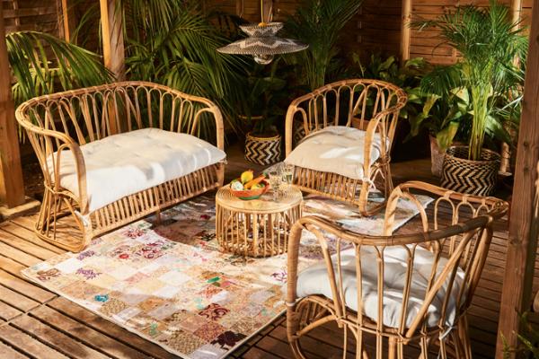 Muebles de jardín sofá
