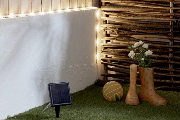 Muebles de jardín iluminación