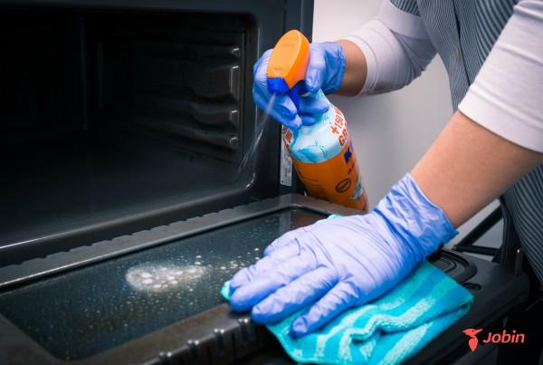 limpiar los electrodomesticos horno