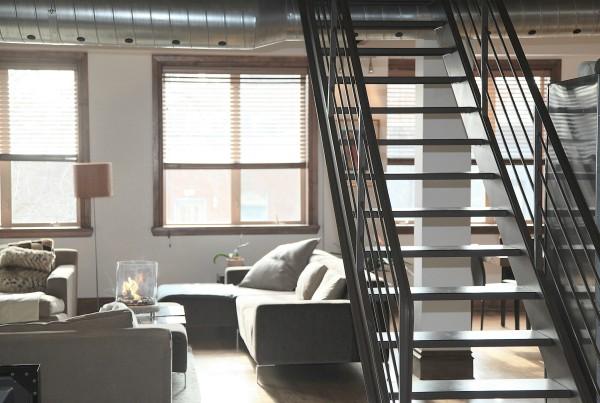 dúplex escalera