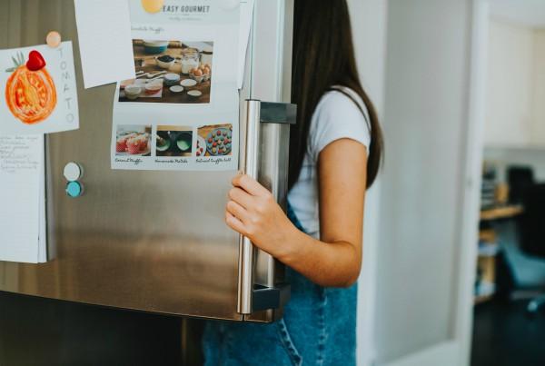 ordenar el frigorífico